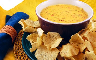 Easy Cheesy Queso Dip Recipe