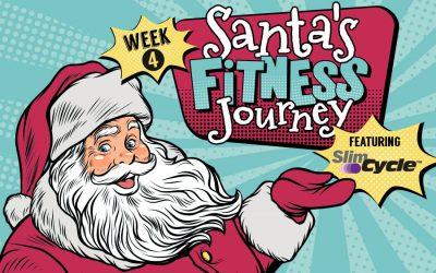 Week 4: Santa's Fitness Journey Featuring Slim Cycle